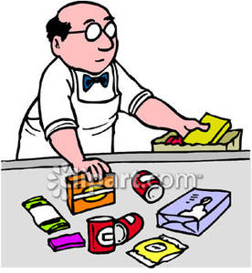 vector library stock Cashier clerk transparent . Supermarket clipart store employee