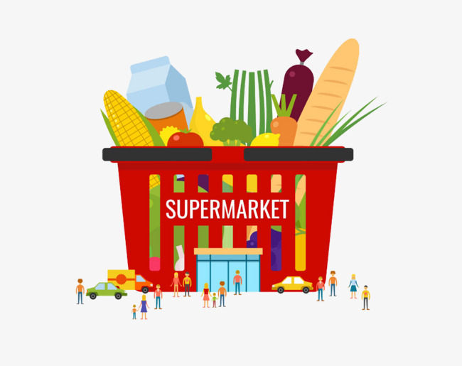 clip free library Supermarket clipart suppermarket. Download free png creative
