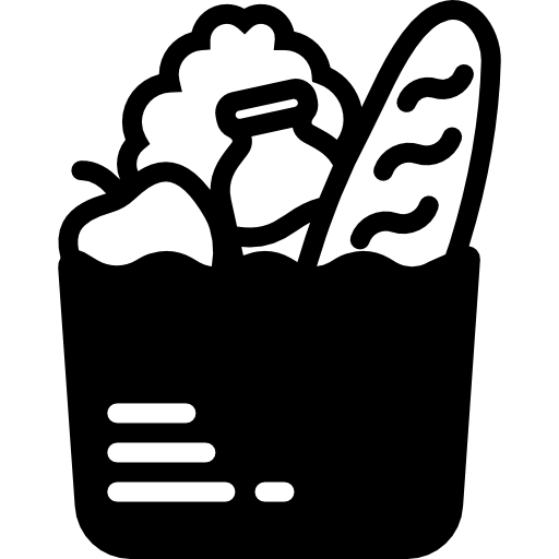 graphic freeuse stock Supermarket clipart transparent. Goods grocery food groceries.