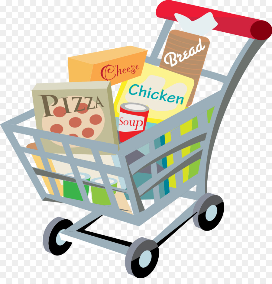 picture freeuse Cartoon shopping clip art. Supermarket clipart transparent.