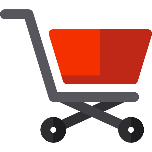 banner transparent download Online store shopping commerce. Supermarket clipart trolley