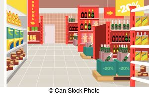 picture transparent Supermarket clipart vector. Eps panda free