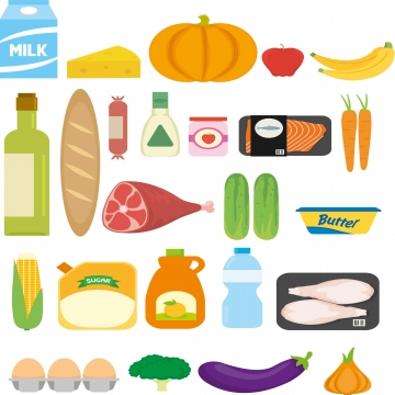 banner freeuse Grocery png psd and. Supermarket clipart vector