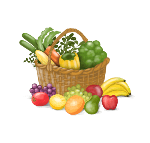 graphic free stock Supermarket clipart vegetable shop. Online shopping from local