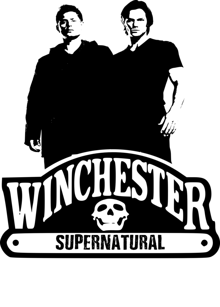 clip free Winchester logo by chasesocal. Supernatural vector.