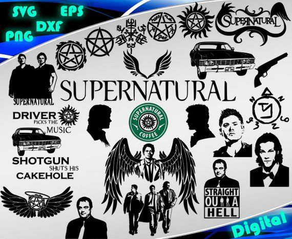jpg free download Pin on products . Supernatural vector