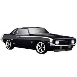 clipart royalty free stock Muscle Car Chevrolet Camaro SS Icon
