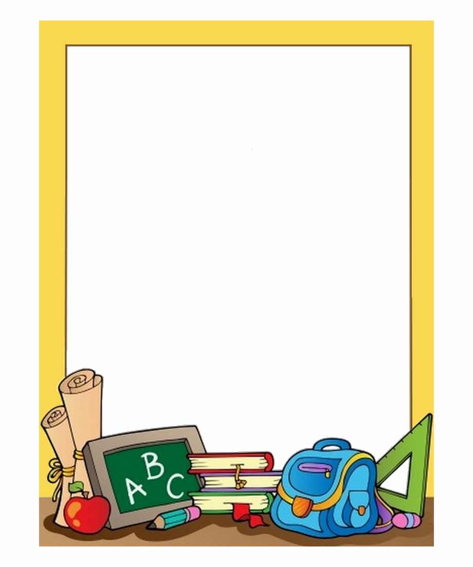 clipart royalty free download Clipart school borders. Download for free png