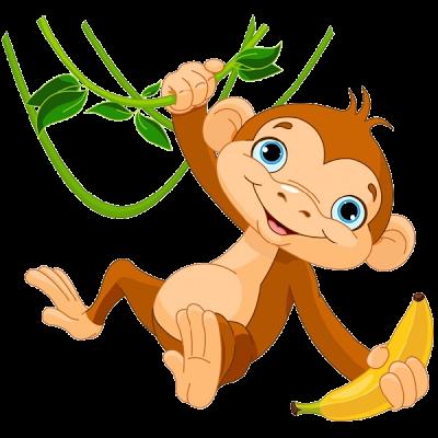 svg stock Ape clipart chimpanzee. Support staff