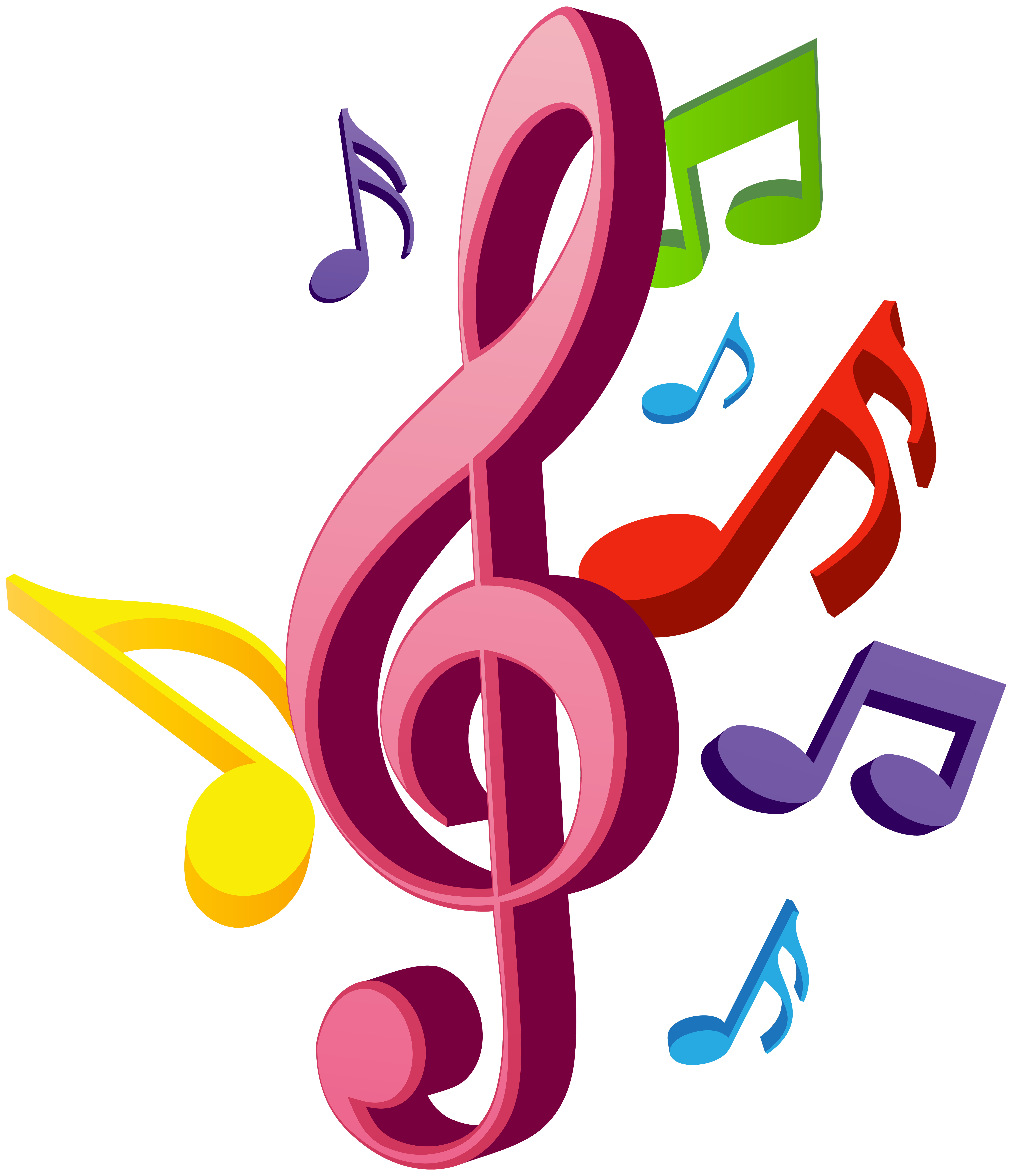 clipart download Strikingly inpiration notes free. Art and music clipart