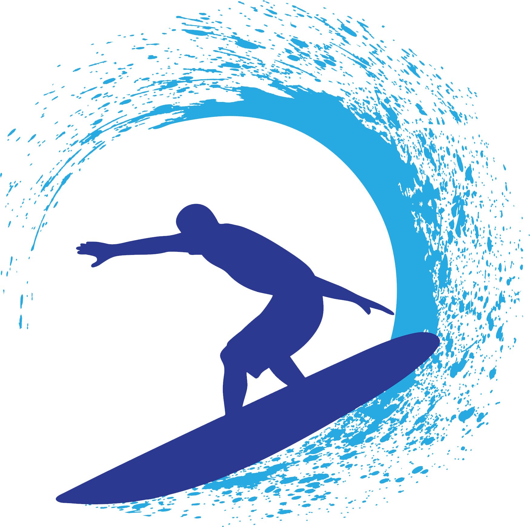 svg royalty free download Free download best on. Surf clipart.