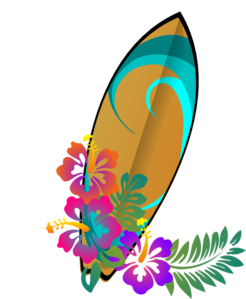 jpg freeuse download Hawaiian Surf Clipart