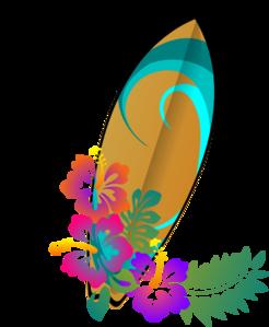 graphic transparent stock Hawaiian . Surf clipart.