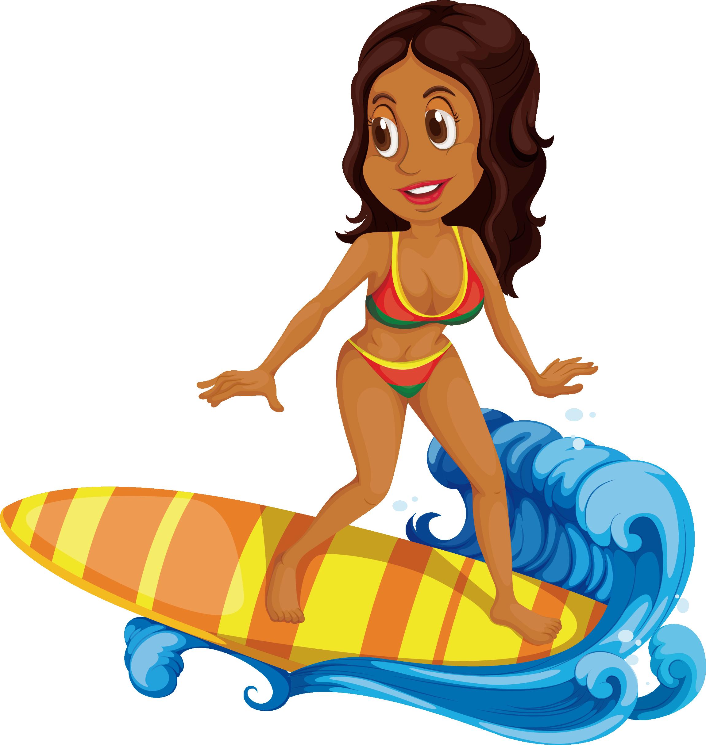 clip art freeuse Cartoon clip art sea. Surfing clipart thing