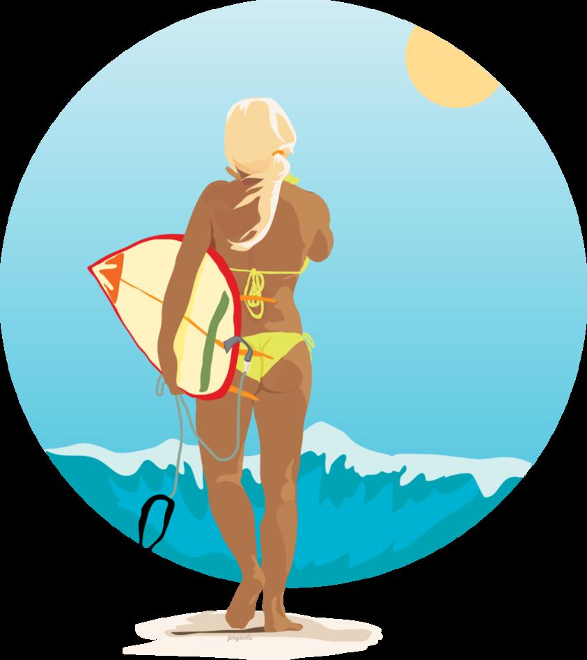 picture transparent library Surfer Girl by jmgnole on DeviantArt