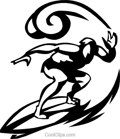 clipart library Surf board at getdrawings. Surfer drawing