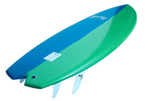 jpg royalty free library Blue Green Surfboard LOST transparent PNG