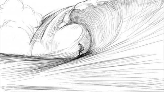 image free stock surfer drawing cool #141281881