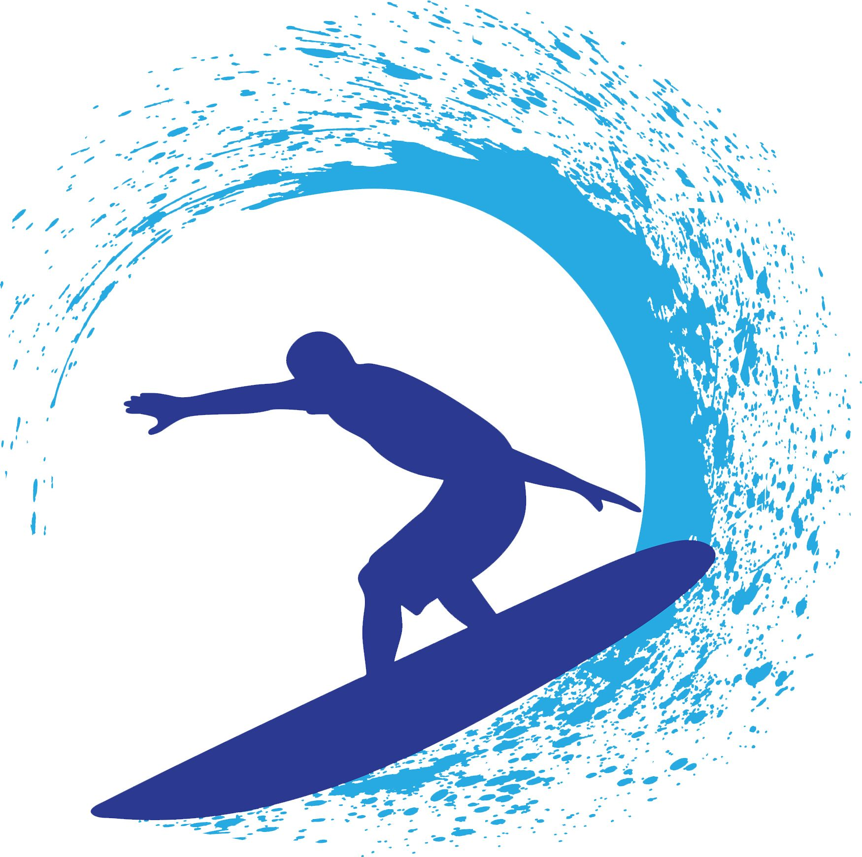 jpg free library Pin on vbs . Surfing clipart.