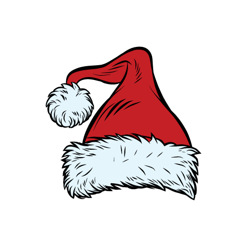 image library Surfing Santas