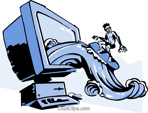 picture royalty free Internet surf frames illustrations. Surfing the web clipart