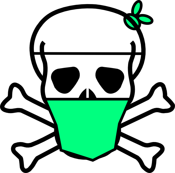 graphic free download Skull clip art at. Surgeon clipart