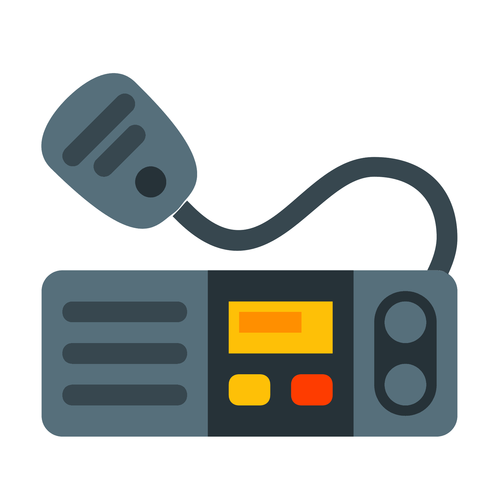 clip art free library Marine radio icono descarga. Vector bundles cable