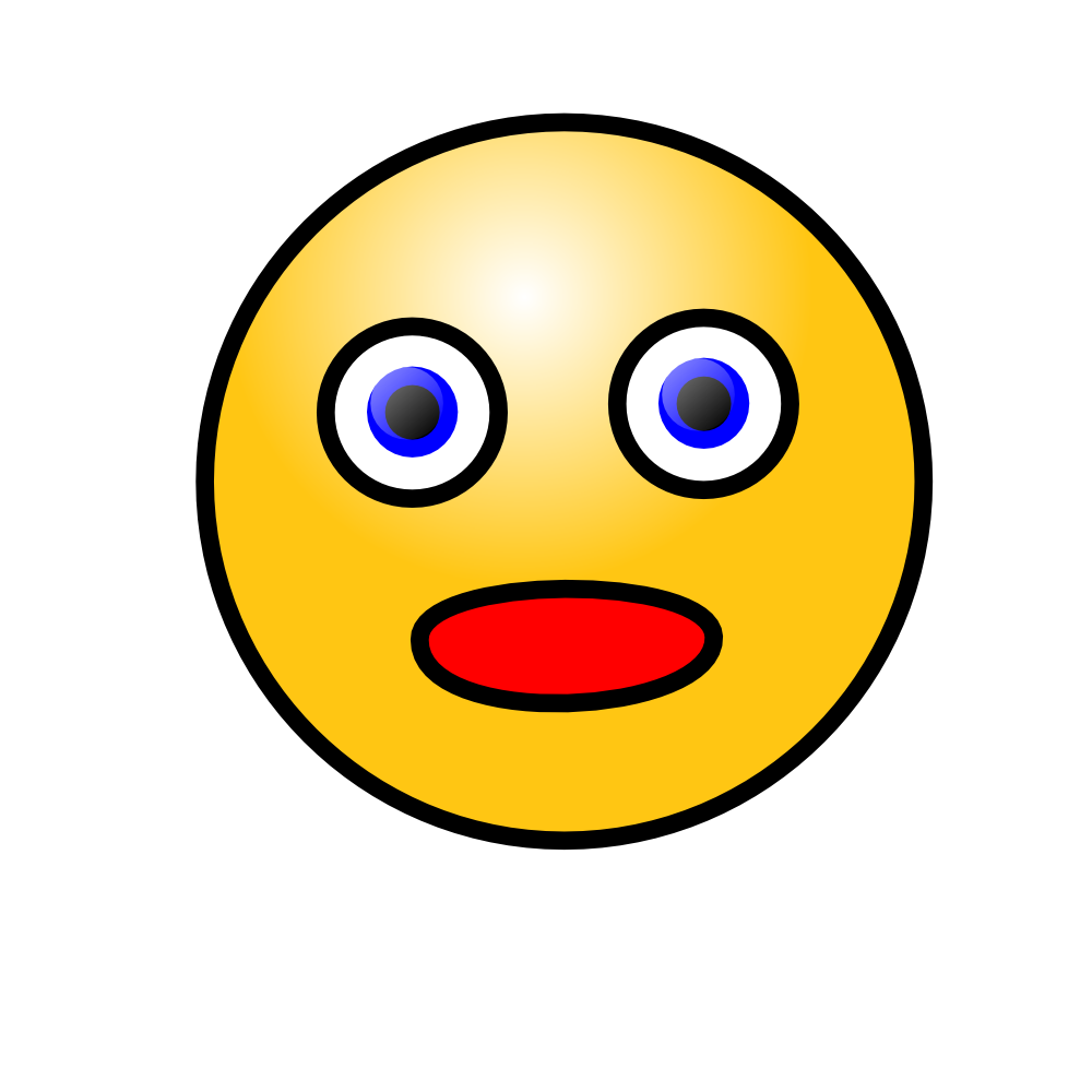 clip art free download Surprise clipart amazed. Face