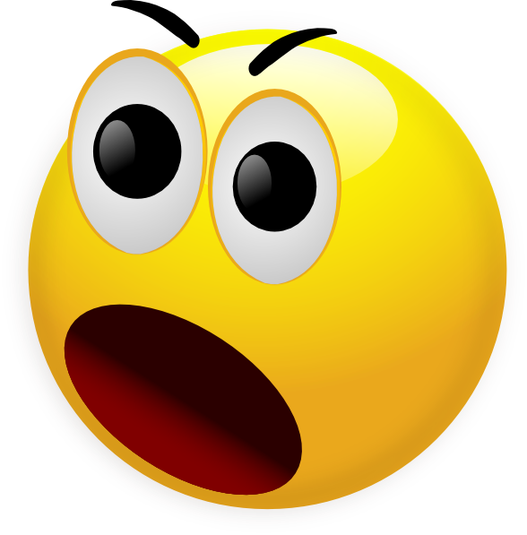 image Surprised face smiley emotions. Writer clipart emoji