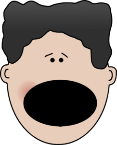 image library Boy Surprised Face Clipart