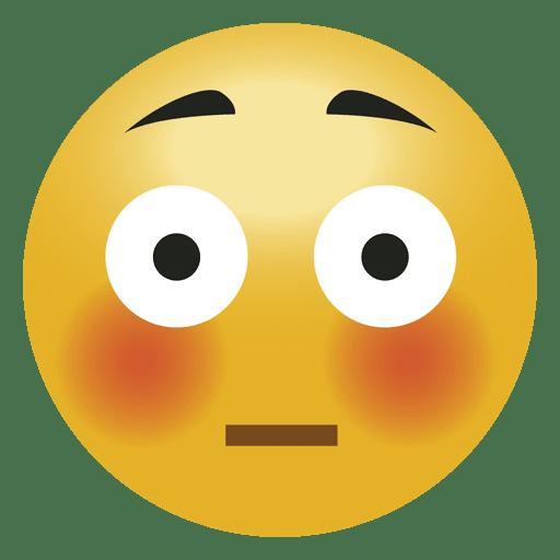png black and white library Shock surprised emoji emoticon. Vector emojis transparent background