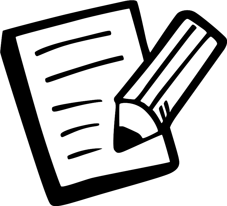 clipart black and white library Survey clipart. News bacdive user satisfaction