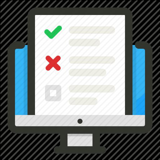 freeuse survey clipart check list #84378433