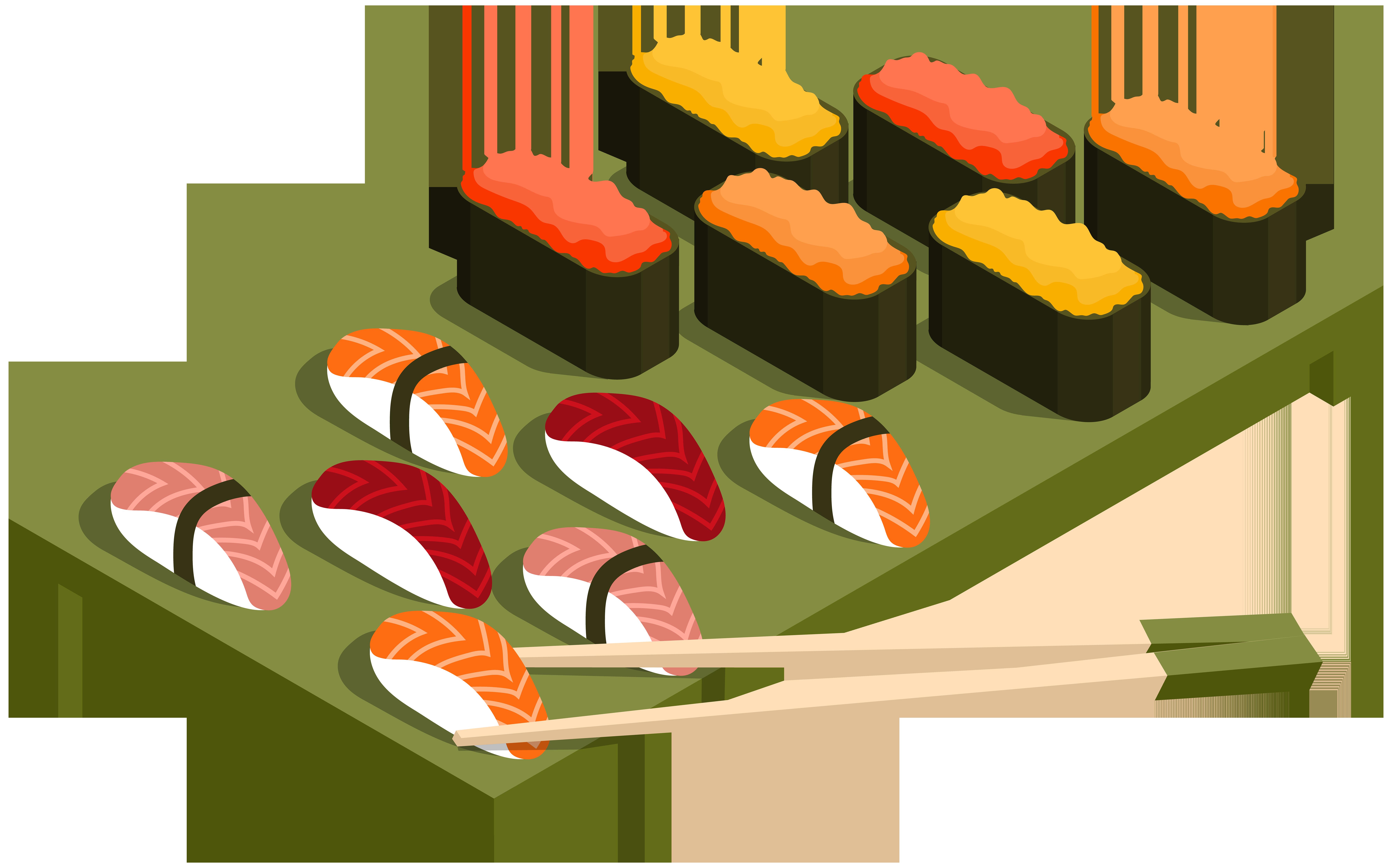 jpg Sushi clipart. Menu png clip art