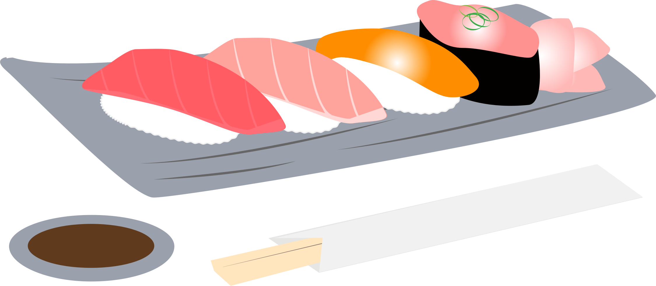 picture transparent download Sushi clipart. Assortment big image png