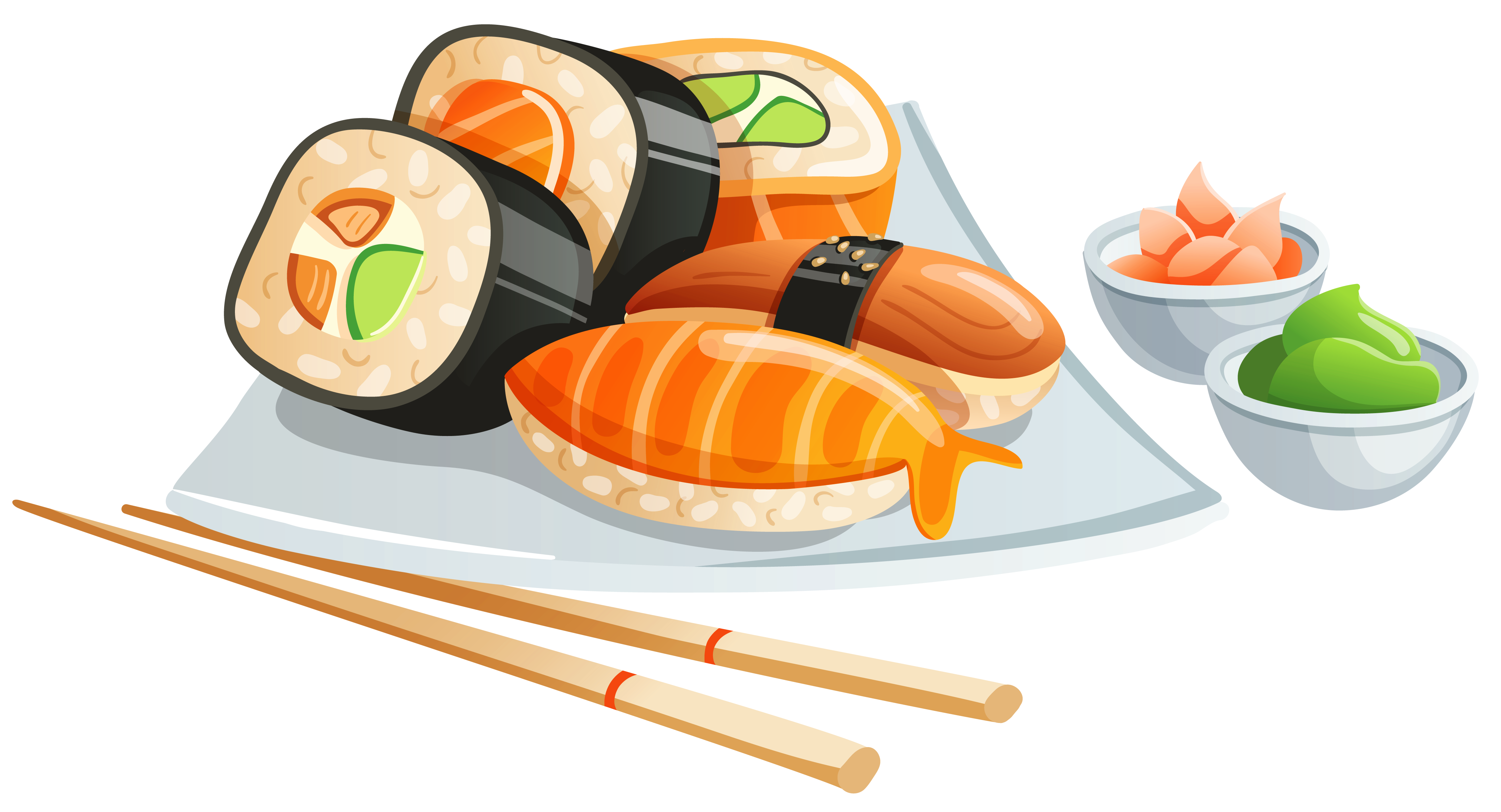 banner free download Sushi PNG Clipart Image