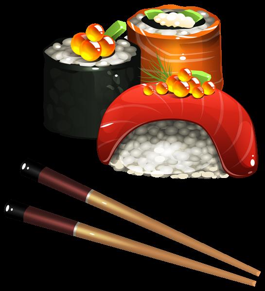 clip freeuse download Set png image pinterest. Sushi clipart