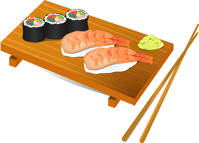 clip library stock Sushi Clip Art Free
