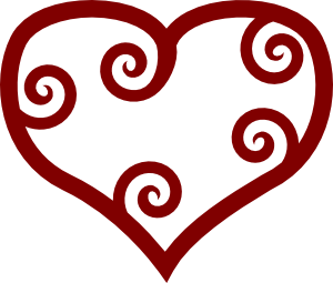 graphic royalty free library Free Heart SVG Files for Craft Cutters