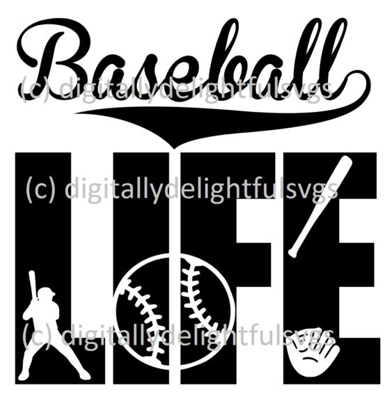 png transparent library Fonts free art . Svg baseball life