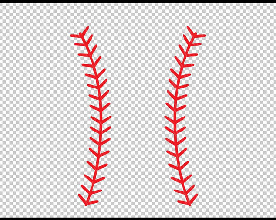 banner freeuse Baseball stitches svg