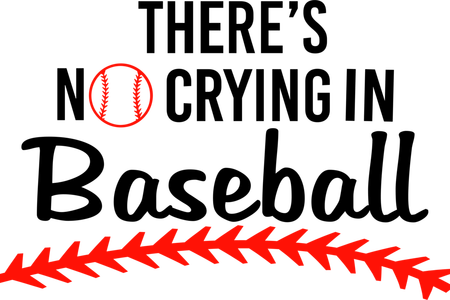 svg library library there s no crying in baseball