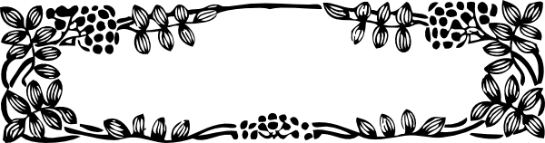 graphic royalty free stock Svg borders. Leaves and berries border