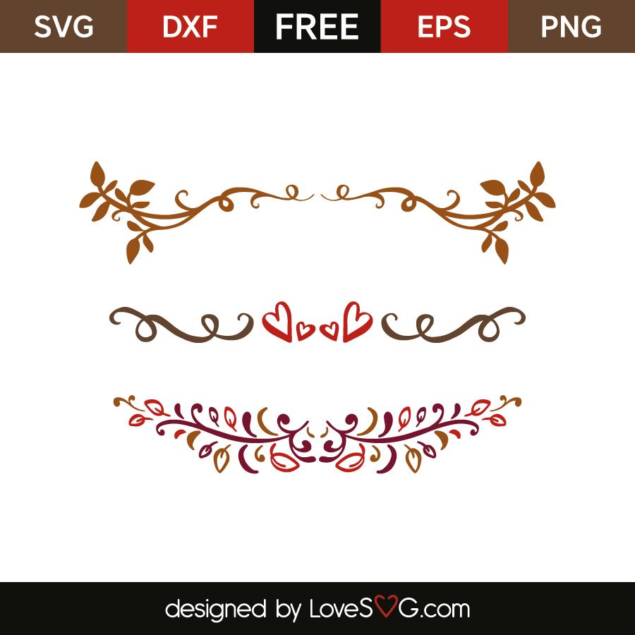 picture stock Decorative lovesvg com . Svg borders.