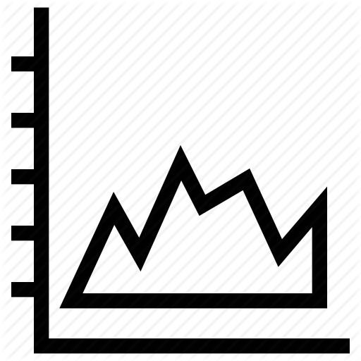 png free library Graph stock chart zigzag. Vector charts market