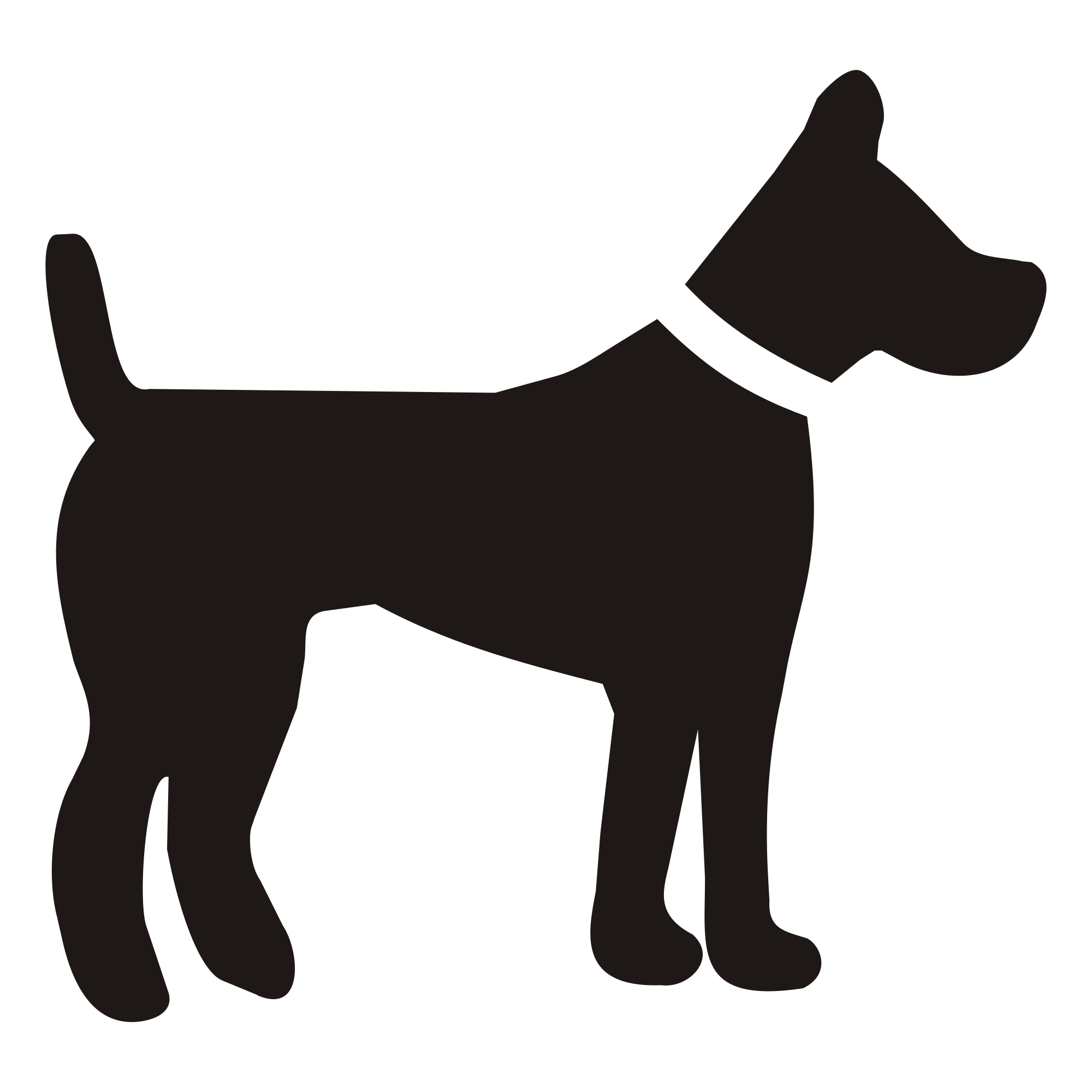 vector library stock Dog Silhouette Svg at GetDrawings