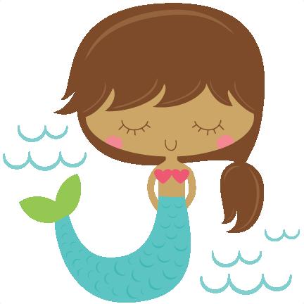 image download Mermaid SVG scrapbook cut file cute clipart files for silhouette