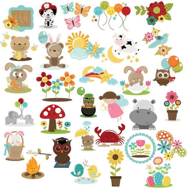 clipart library download March freebie collection miss. Svg cuttables