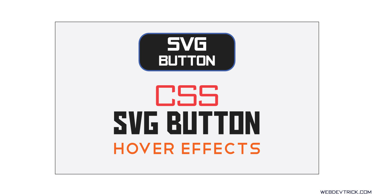 royalty free stock Button animation with css. Using svg hover