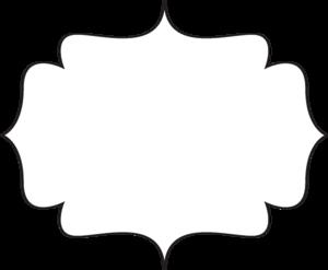 clip art free stock Black white frame image. Svg frames bracket